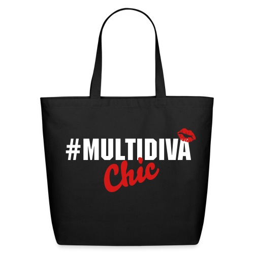Eco-Friendly Cotton Tote - Official Multi Diva Chic Tote