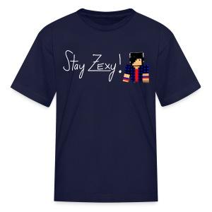 Stay Zexy Line - Kid - Kids' T-Shirt