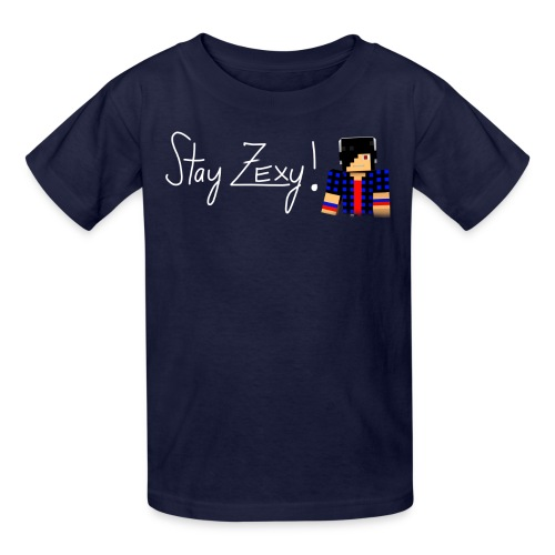 Stay Zexy Line - Kid - Kids' T-Shirt