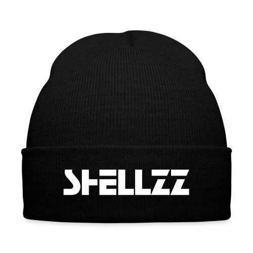 ShellZz Hat - Knit Cap with Cuff Print