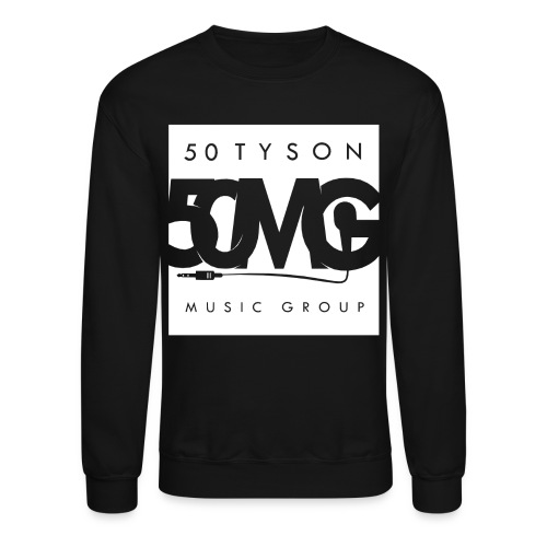 50MG Full Logo white Crew - Crewneck Sweatshirt