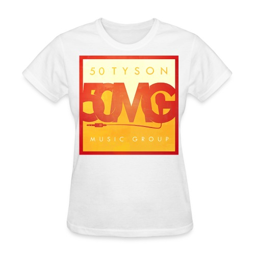 50MG Full Logo color (f) - Women's T-Shirt