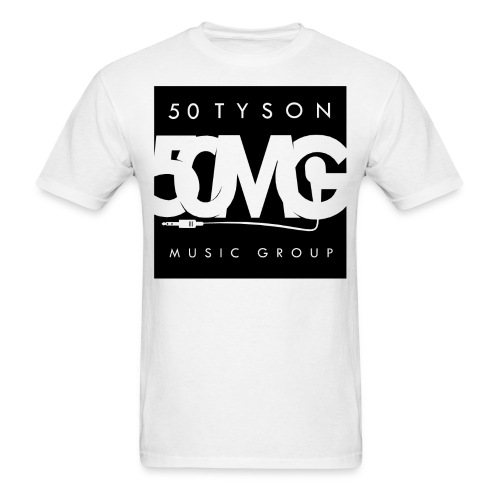 50MG Full Logo black - Men's T-Shirt