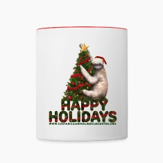 SLOTHFUL HOLIDAY.png Mugs & Drinkware