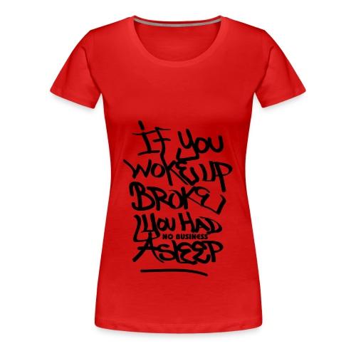 Money Vibes Women's Tee - Women's Premium T-Shirt