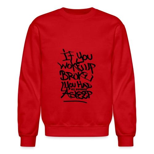 Money Vibes Sweat Shirt - Crewneck Sweatshirt