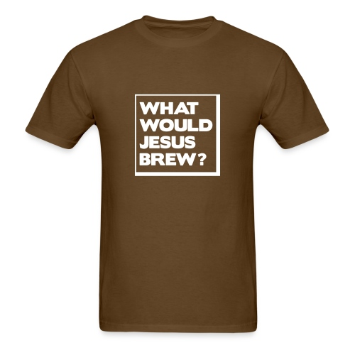 What would Jesus brew? - Men's T-Shirt