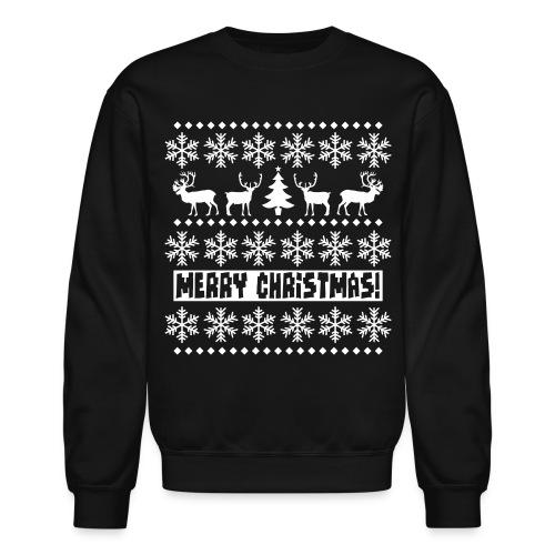 'The Ugly Sweater' Sweatshirt (Black/White) - Crewneck Sweatshirt