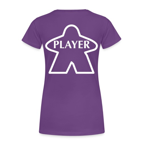 Purple Player - Women's Premium T-Shirt