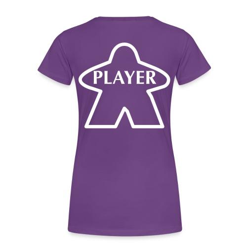 Purple Player - Women's Premium T-Shirt
