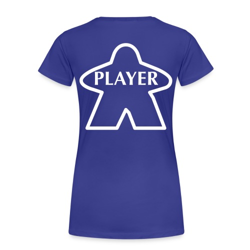 Blue Player - Women's Premium T-Shirt