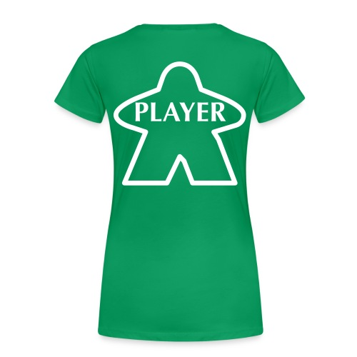 Green Player - Women's Premium T-Shirt