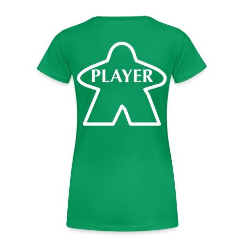 Green Player - Women's Premium T-Shirt