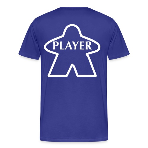 Blue Player - Men's Premium T-Shirt