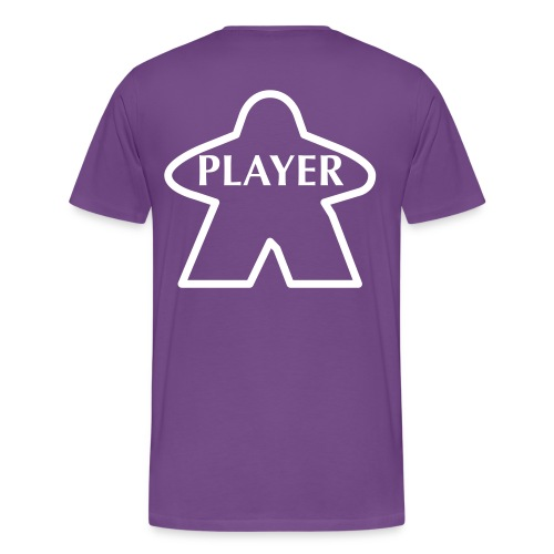 Purple Player - Men's Premium T-Shirt