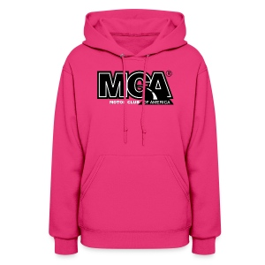 Womens Pink Hooded Shirt - Women's Hoodie