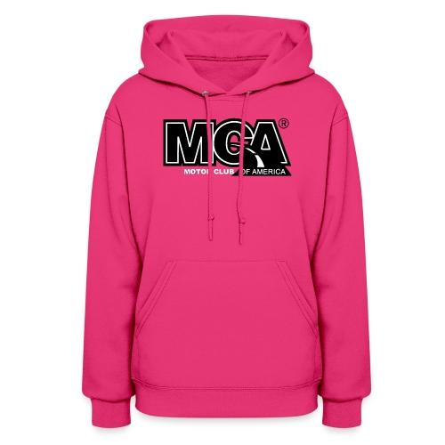 Womens Pink Hooded Shirt - Women's Hoodie