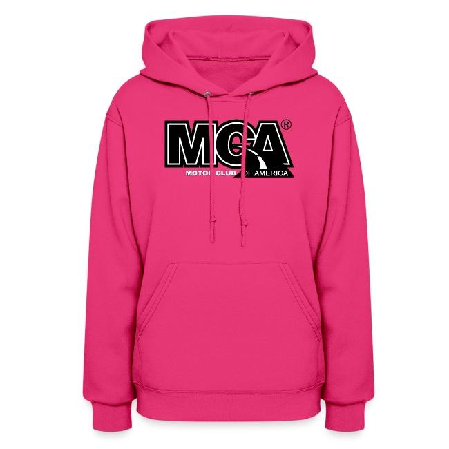 Womens Pink Hooded Shirt
