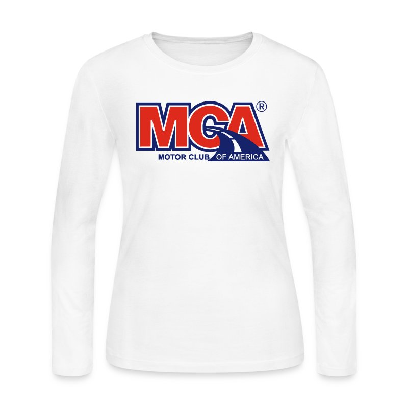 Womens White Long Sleeve Shirt - Women's Long Sleeve Jersey T-Shirt