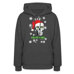 HOPSKULL Hoppy Xmas Women's Hooded Sweatshirt - Women's Hoodie