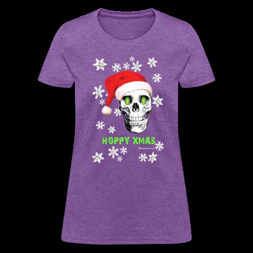 HOPSKULL Hoppy Xmas Women's T-Shirt - Women's T-Shirt