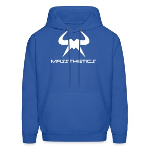 White Logo Hoodie Free Color Selection - Men's Hoodie