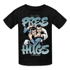 Kids' T-Shirt - Martial Arts Design - The Other Free Hugs Campaign