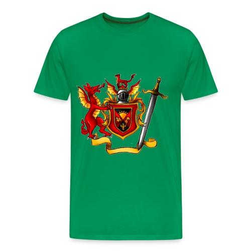 Vanburman Logo - Men's Premium T-Shirt