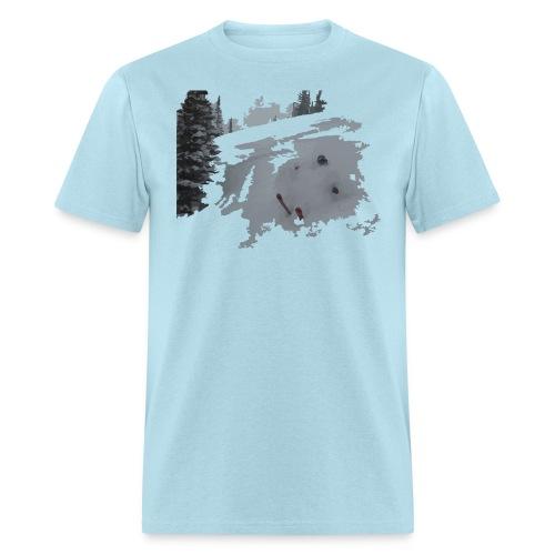 Powder Skier T-Shirt - Men's T-Shirt