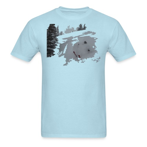 Powder Skier T-Shirt - Men's T-Shirt