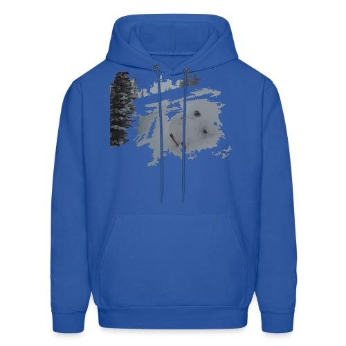 Powder Skier Hoodie - Men's Hoodie