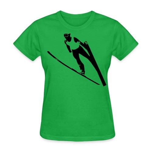 Ski Jumper T-Shirt - Women's - Women's T-Shirt