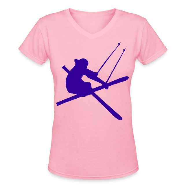 Freeskier V-Neck T-Shirt - Women's
