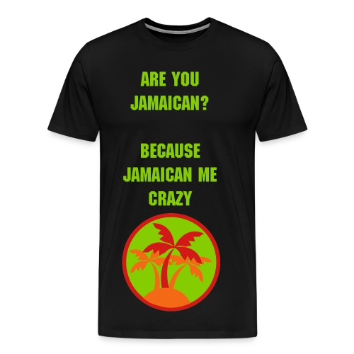 Jamaican - Men's Premium T-Shirt