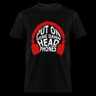 T-Shirts ~ Men's T-Shirt ~ Headphones (Guys)