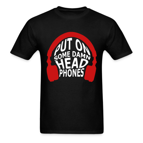 Headphones (Guys) - Men's T-Shirt