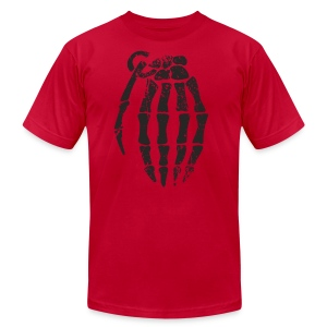 Knuckle Grenade - Men's T-Shirt by American Apparel