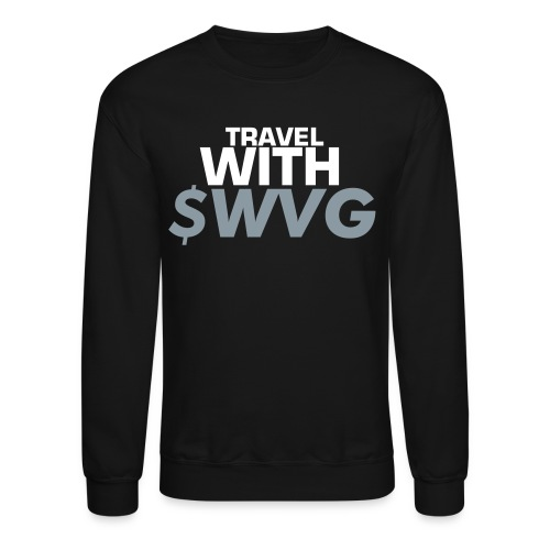 Travel With $wvg Mens Sweatshirt - Crewneck Sweatshirt