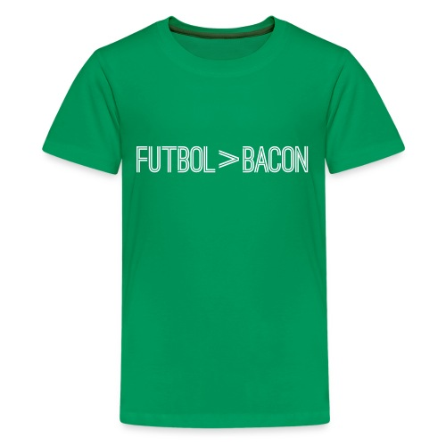 Greater Than  Bacon Youth Tee - Kids' Premium T-Shirt
