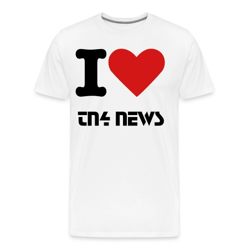 I Heart TN4 Men's Shirt - Men's Premium T-Shirt