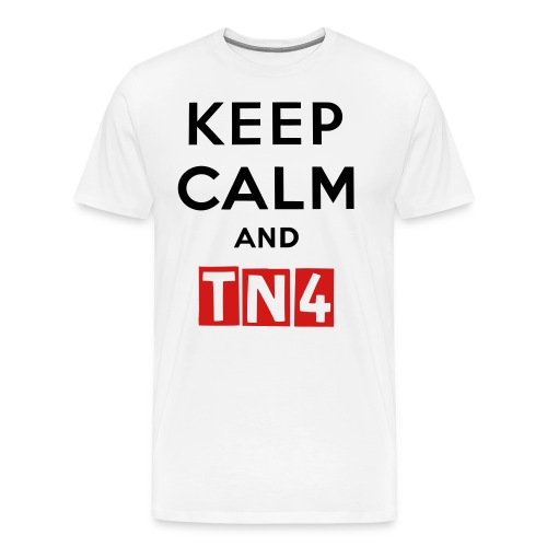 Keep Calm TN4 Men's Shirt - Men's Premium T-Shirt