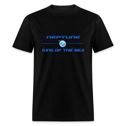 Neptune King Of The Sea Tee Blk - Men's T-Shirt