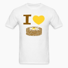 I Love Pancakes T-Shirts
