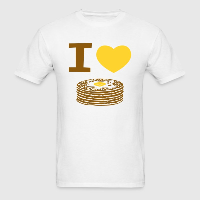 I Love Pancakes T-Shirts - Men's T-Shirt