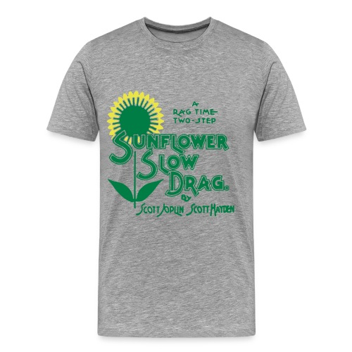 Hayden's Sunflower Slow Drag Rag Shirt - Men's Premium T-Shirt