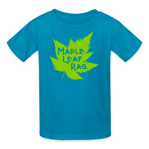 Children's Maple Leaf Rag Shirt - Kids' T-Shirt