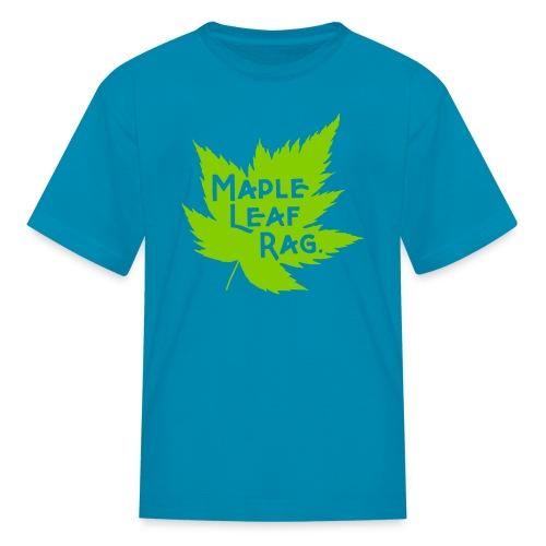 Children's Maple Leaf Rag Shirt - Kids' T-Shirt