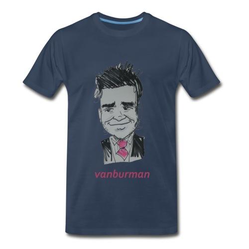 Vanburman Cartoon T - Men's Premium T-Shirt