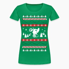 Ugly Christmas Motocross Women's T-Shirts