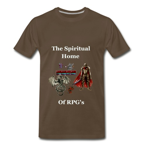 The Spiritual Home of RPG's - Men's Premium T-Shirt